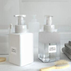 450ml-Empty-Plastic-Foaming-Hand-Soap-Dispenser-Foam-Pump-Bottle-Great-Quality