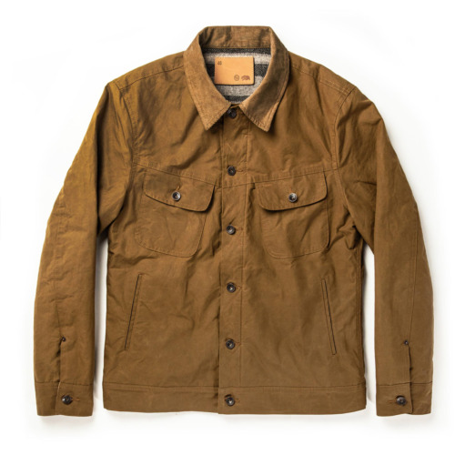 Taylor Stitch Long Haul Jacket in Harvest Tan Dry… - image 1