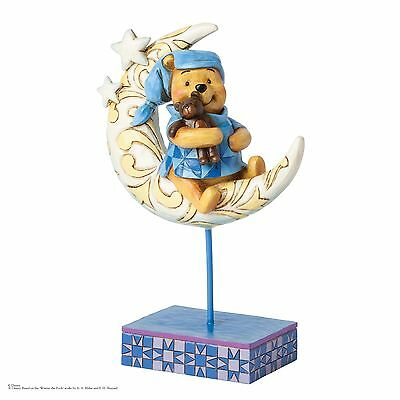 Disney Jim Shore Bedtime Bear Winnie The Pooh on The Moon Figurine 20cm 4038499
