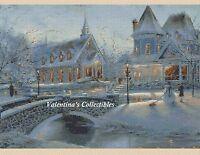 Cross Stitch Christmas Village - Complete Kit 4-376 (large Print)
