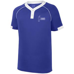 Hammer Men's Plague Performance Jersey Bowling Shirt Dri-Fit Purple