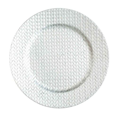 "Home Event /& Wedding Decor Richland Charger Plates 13/"" Woven Set of 12"