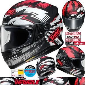 SHOEI-Integralhelm-NXR-VARIABLE-TC-1-Motorradhelm-Sport-mit-Pinlock-Gr-L-59-60