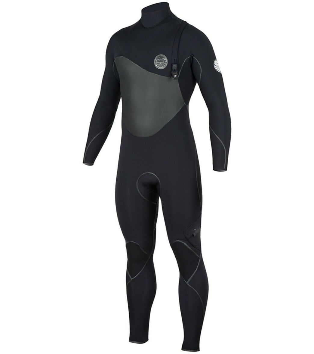 RIP CURL Men's 3 2 FLASH BOMB PLUS ZIP-FREE Wetsuit - BLK - Large Tall - NWT
