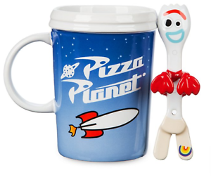 Toy Story 4 Forky Mug and Spoon NEW