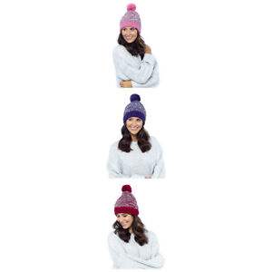 Image is loading Ladies-Women-Hat-Thinsulate-Waterproof-Winter-Hats-Pink- 0249749bfa9