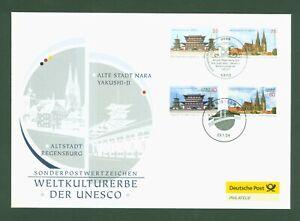 Deutschland-2011-Gemeinschaftsausgabe-mit-Japan-UNESCO-Joint-Issue-FDC