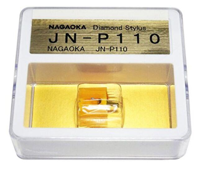Nagaoka Jn-P110 Mp-110 Cartucho Repuesto Aguja para Mp-110 Japón F/S Track #