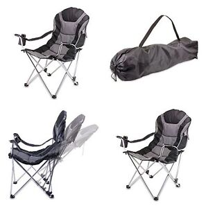 Image Is Loading 3 Way Reclining Folding Chair Seat Camping Hiking