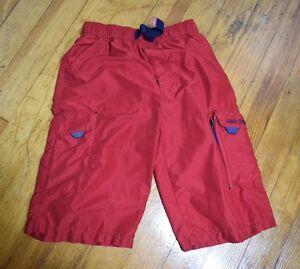 Rosso Quick Dry Swim Shorts Board Boys Ltd Amx Trunks L 14 16 qYHXwT