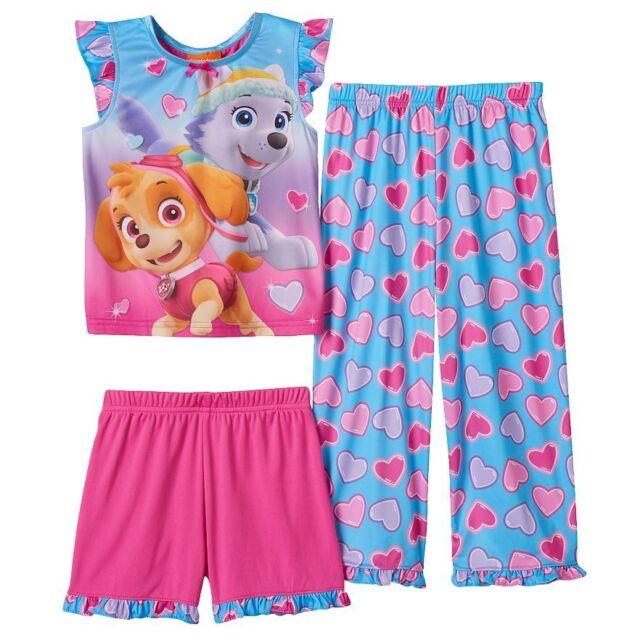 Nickelodeon Paw Patrol Toddler Boy Botton up Pajama Set NWT