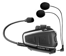 Cardo Scala Rider Q3 2016 motocicleta casco Bluetooth Auricular Intercomunicador Radio Fm