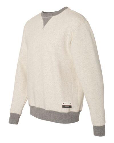 """Champion-Authentic Originals Sueded Fleece Crew /""""C/"""" logo Sweatshirt AO500"""