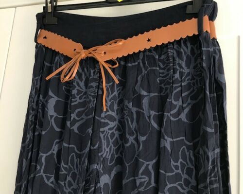 Italien Lagenlook Boho Hippy Harem Pants Floral Pantalon Yoga Taille 10-16