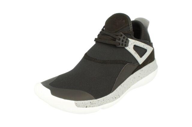 50979b078c66d9 Mens Nike Jordan Fly 89 Trainers SNEAKERS Black Grey Cement 7.5 ...