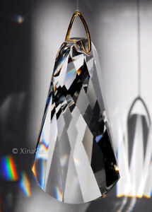Wave-SunCatcher-Huge-63mm-Twist-Austrian-Crystal-Clear-Prism-2-5-inches