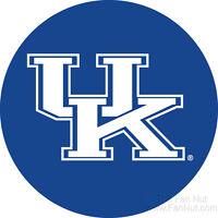 Kentucky Wildcats Rr 4 Round Vinyl Magnet Auto Home University Of