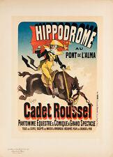 Les Maitres de l'Affiche pl.125 Hippodrome by Jules Cheret Original Poster