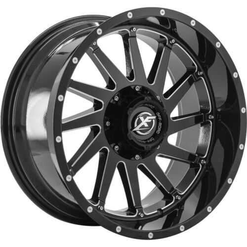 20x12 Black Wheel XF Offroad XF-216 6x135 6x5.5-44