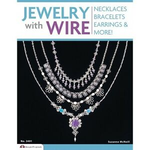 JEWELRY-WITH-WIRE-Beaded-Craft-Beading-Beads-Idea-Book