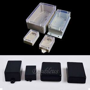 Waterproof-Plastic-ABS-Project-Electronic-Instrument-Enclosure-Case-Box