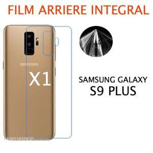 Protector-De-Pantalla-trasero-Completo-Para-Curvo-Samsung-Galaxy-S9-PLUS