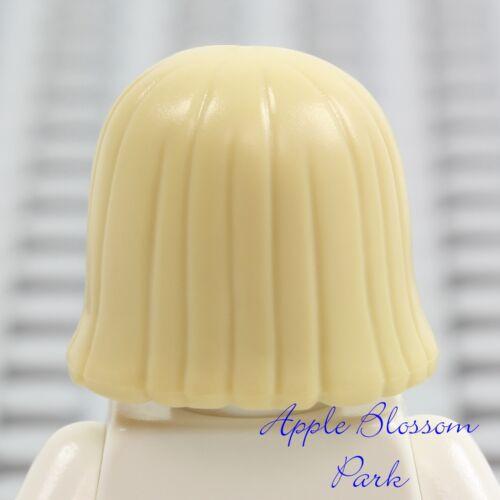 NEW Lego Minifig Short TAN HAIR Girl Friends Female Long Straight Boy Head Gear