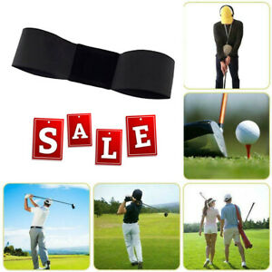 Details About Golf Smooth Swing Training Arm Band Golf Hand Posture Corrector Training Belt Us