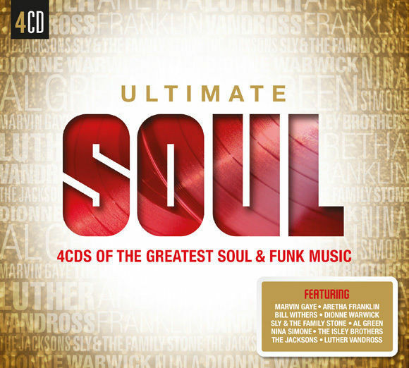 Various Artists - Ultimate Soul - 4xCD Digipak - Brand New Sealed