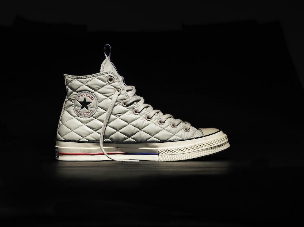NIB Converse Chuck Taylor 70 Hi Down Jacket Light Grey G 147981C US Mens 10