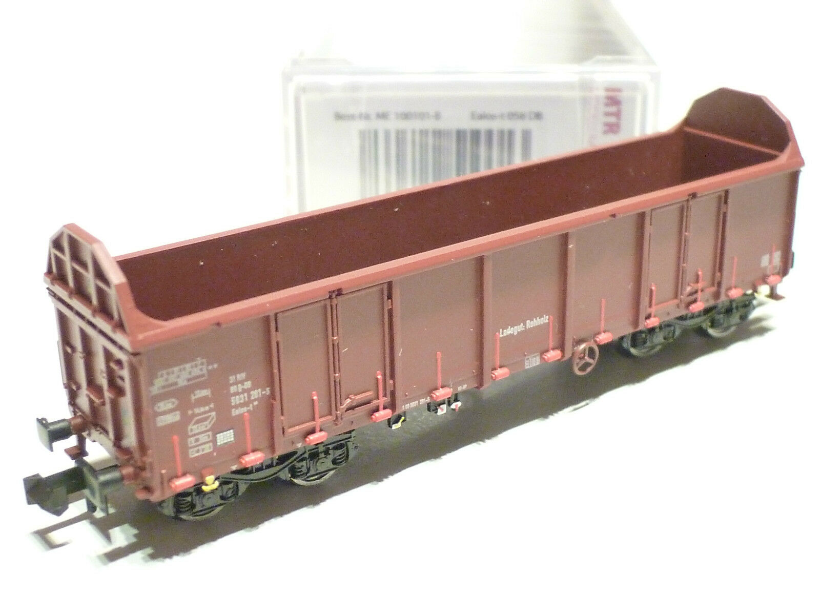 Mtr N DB AG Wooden Trolley Type ealos-T Brown ME100101-B NEW OVP