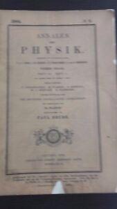 Revista-Annalen-Der-Physik-Von-P-Drude-Banda-14-HEFT-1-Leipzig-1904-ABE