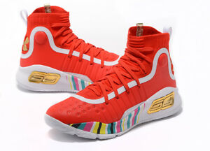 sale retailer 7d20f 1f9a2 Details about NEW Fashion Men's Under Armour Curry 4 TRAINING Basketball  Shoes Size US7--US12
