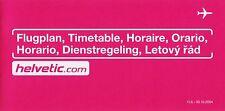 Helvetic (Switzerland) Timetable  June 11, 2004 =