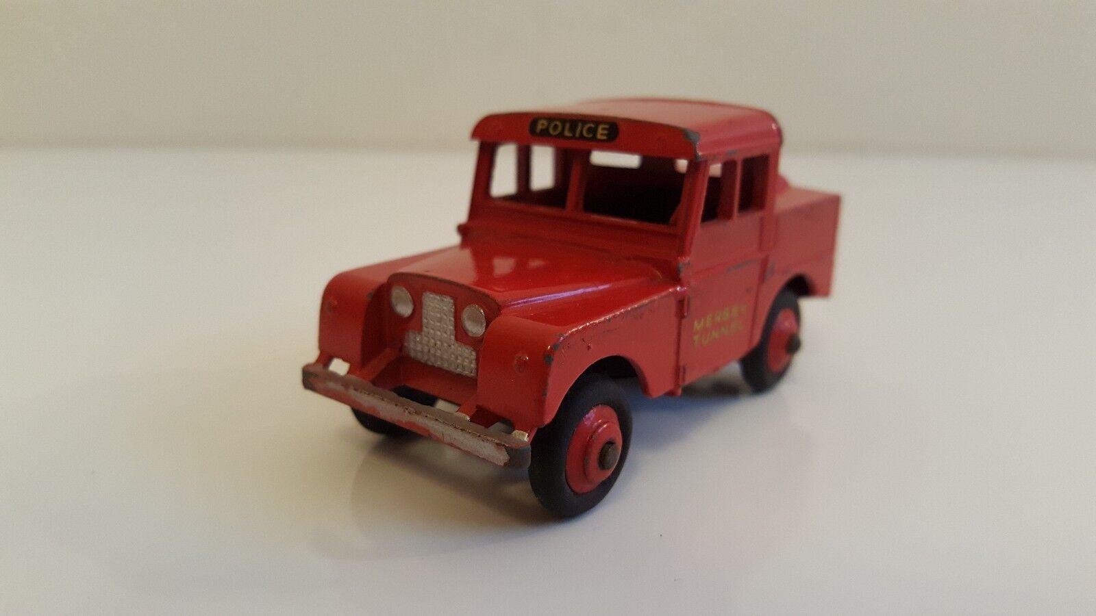 Dinky Toys - 255 - Land Rover MerseyTunnel Police Van