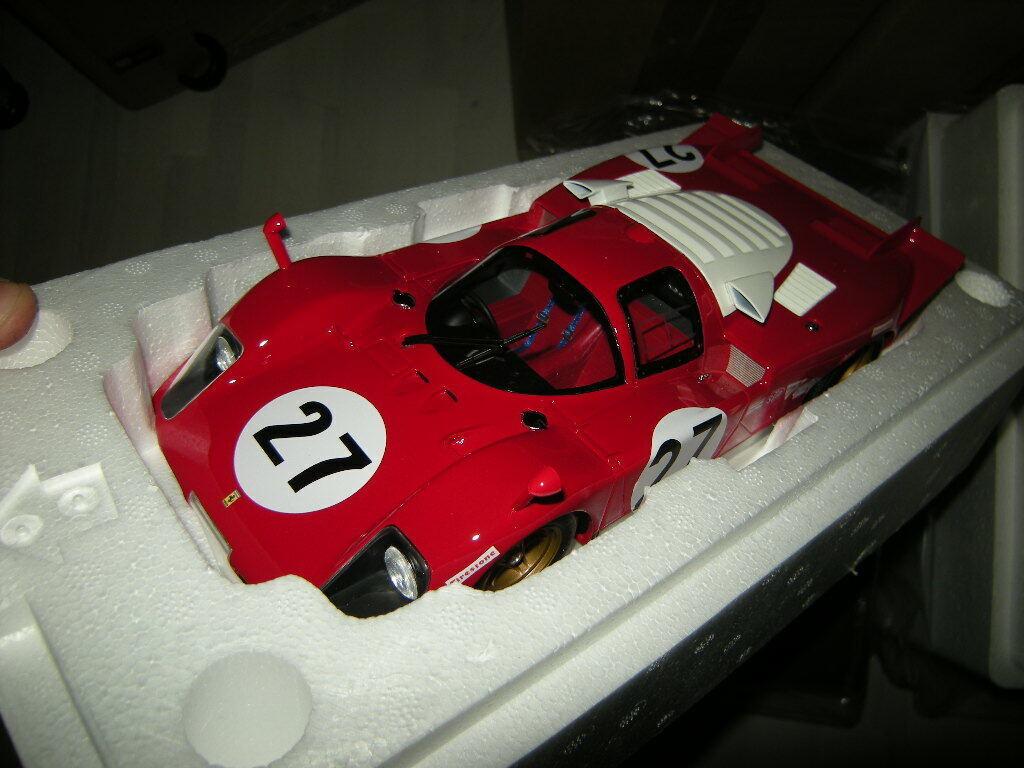 1 18 CMR Ferrari 512 S (27 24h Daytona 1970 no CMR031 BNIB)