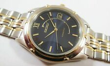 Seiko Kinetic Two-Tone Stainless Steel 5M42-0P58 Sample Watch NON-WORKING #2