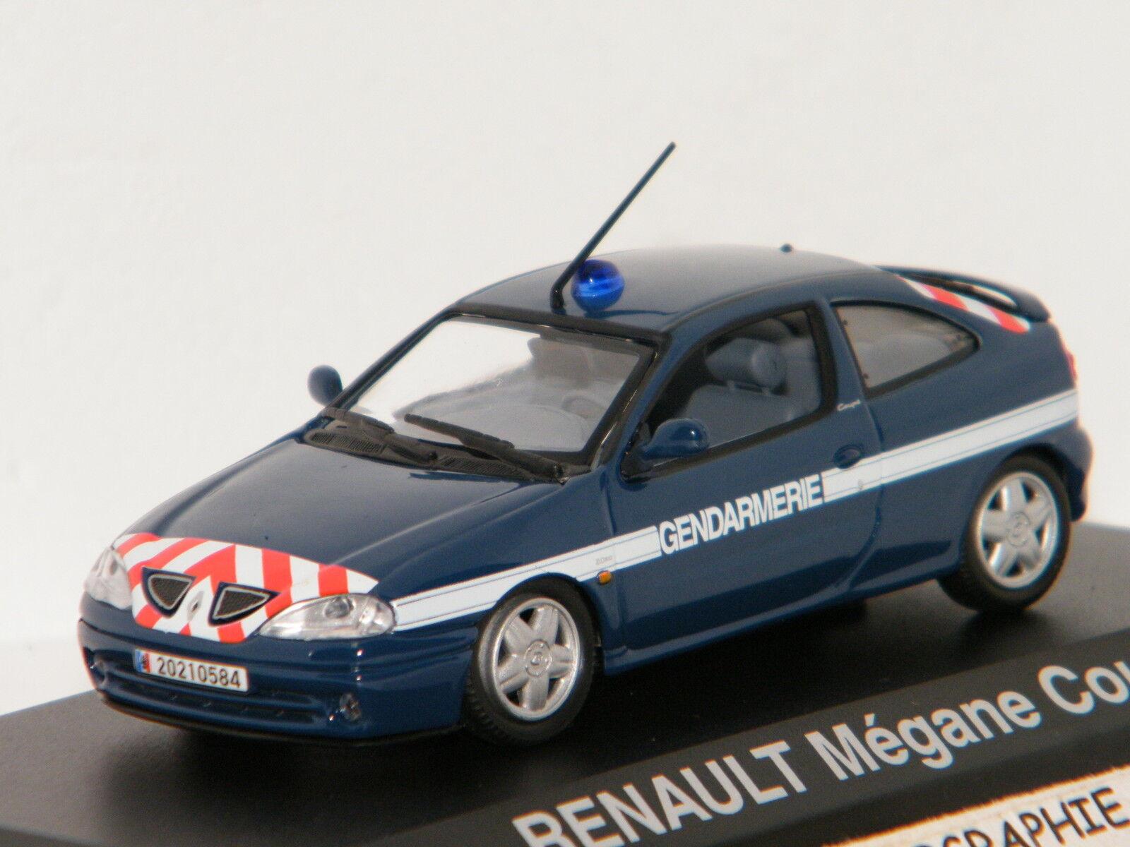 RENAULT MEGANE COUPE 2001 GENDARMERIE NOREV 1 43 Ref 517672