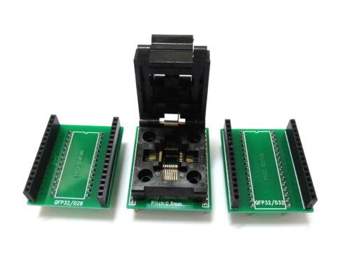 Flap QFP32 TQFP32 PQFP32 auf DIP32 Sockel Adapter Universal Programmer Konverter