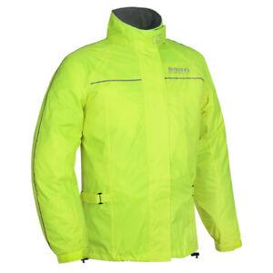 Oxford-Rainseal-Waterproof-Motorcycle-Motorbike-Over-Jacket-Fluo-RM110