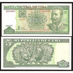 5 Pesos 1997 Unc P 116a P4zynbcc-07222552-709719049