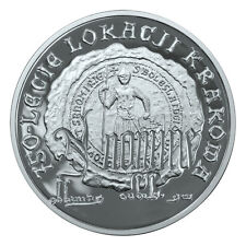 Poland / Polen - 10zl 750th Anniversary of granting municipal rights to Krakow