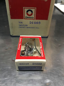 NEW-AC-Delco-Remy-GENUINE-NOS-D1000-Ignition-Condenser-Point-Set-1852129-D106PS