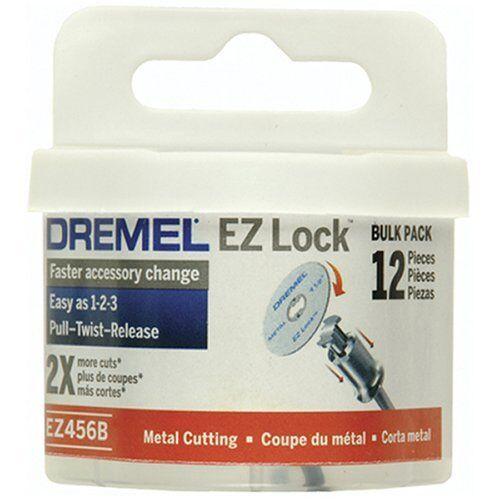 "Dremel EZ456B 1 1//2/"" EZ Lock Rotary Tool Metal Cut Off Wheels 12 blades"