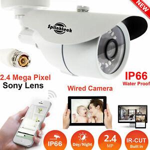 2.4MP CCTV Bullet Camera 1080P Full HD OUTDOOR 36LED AHD Video IP66 Night Vision