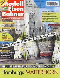 Modell Eisen Bahner 7/2008 Juli 2008 Magazin für Vorbild und Modell