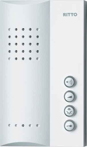 Ritto Freisprechstelle für TwinBus Türsprechanlagen 1723070 Weiß