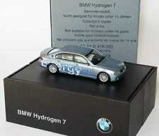 1:87 BMW 7er Hydrogen 7 E68 bluewater - Clean Energy - Dealer-Edition - herpa