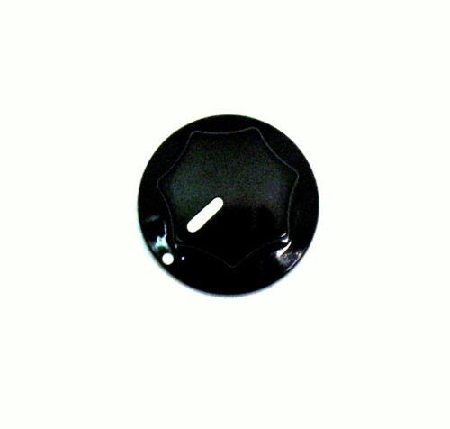 "1 x Small Black 20mm 3//4/"" Fluted MXR style plastic knob DIY GUITAR EFFECTS PEDAL"