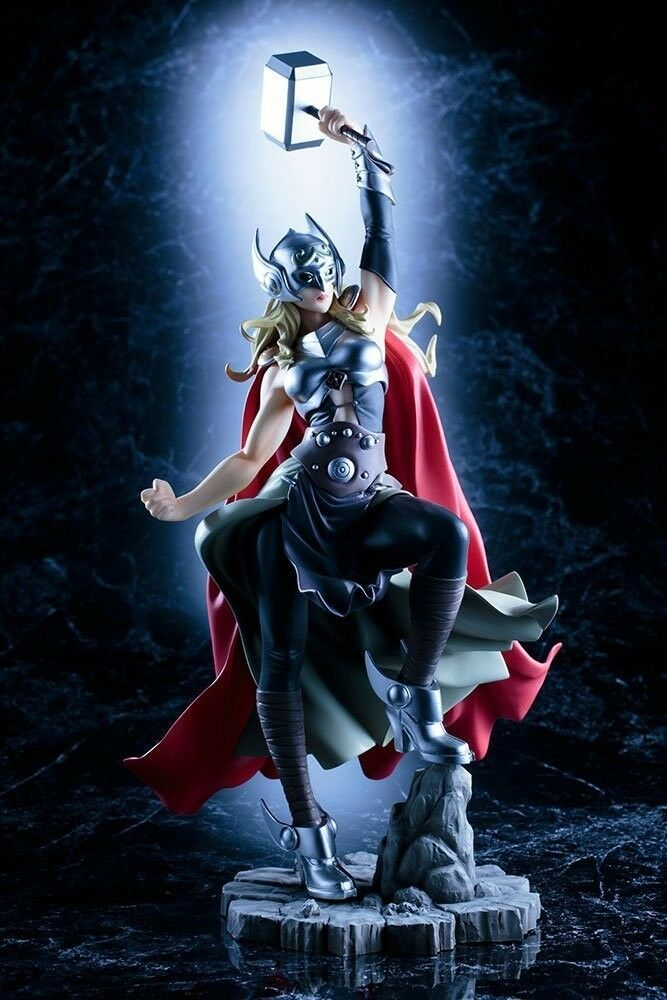 NEW Kotobukiya Marvel Bishoujo Thor 1/7 Statue Marvel Universe Figures Japan F/S
